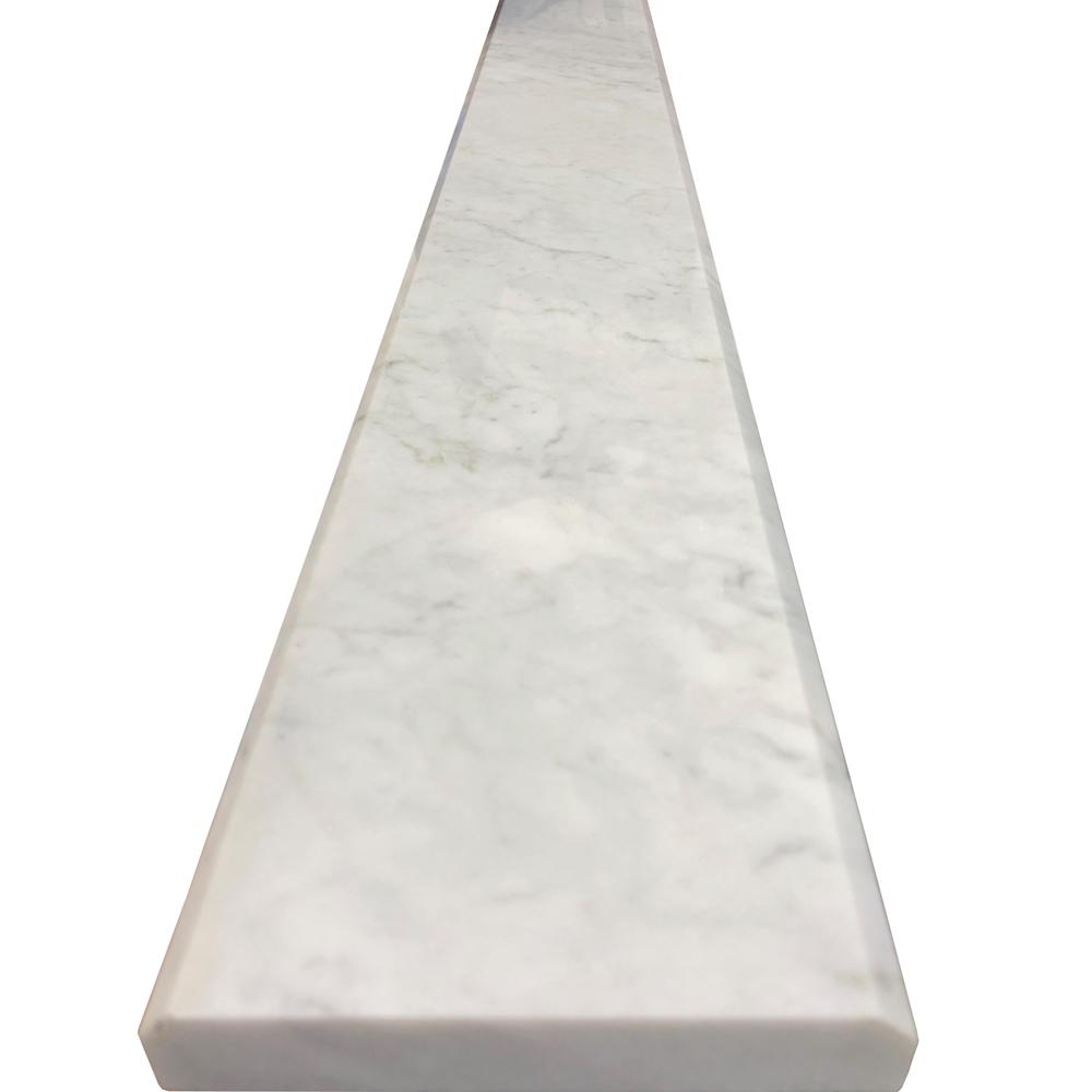 5 X 36 Threshold Saddle Carrara Tile