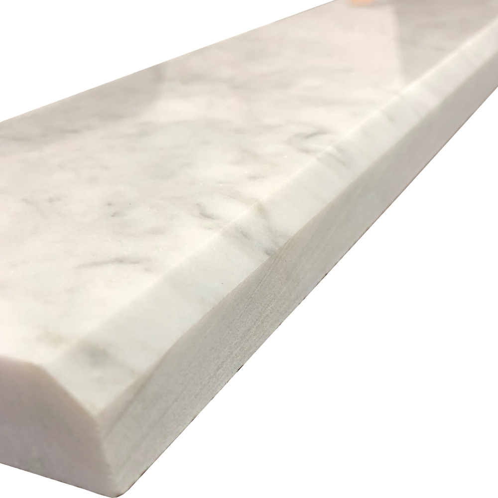 Carrara Threshold: 4 X 32 Threshold Saddle