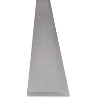 4 x 24 Saddle Threshold Single Hollywood Sky Grey Quartz