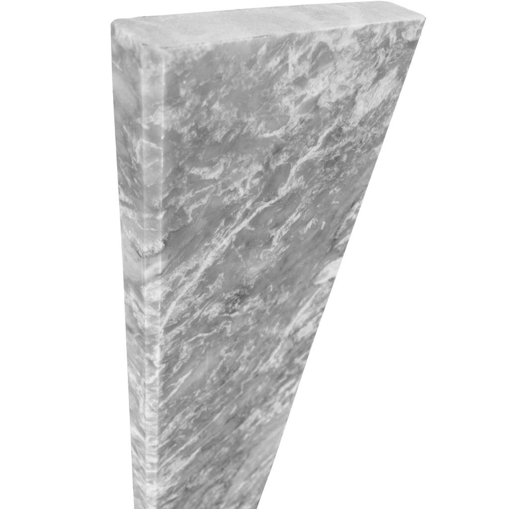 6 X 48 Saddle Threshold Light Grey Marble Stone