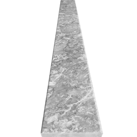 6 x 32 Saddle Threshold Light Grey Marble Stone