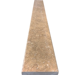 4 x 24 Saddle Threshold Cafe Noche Travertine Stone