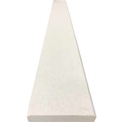 4 x 24 Saddle Threshold Quartz Cream White Stone