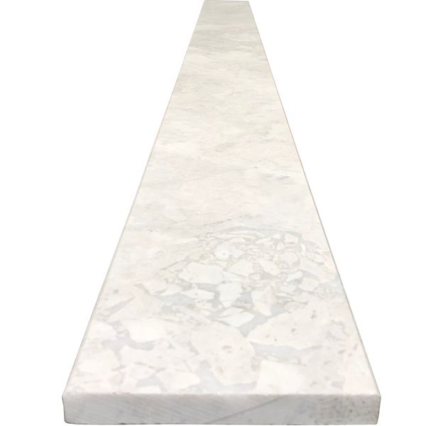 6 X 48 Threshold Saddle Moon White Carrara