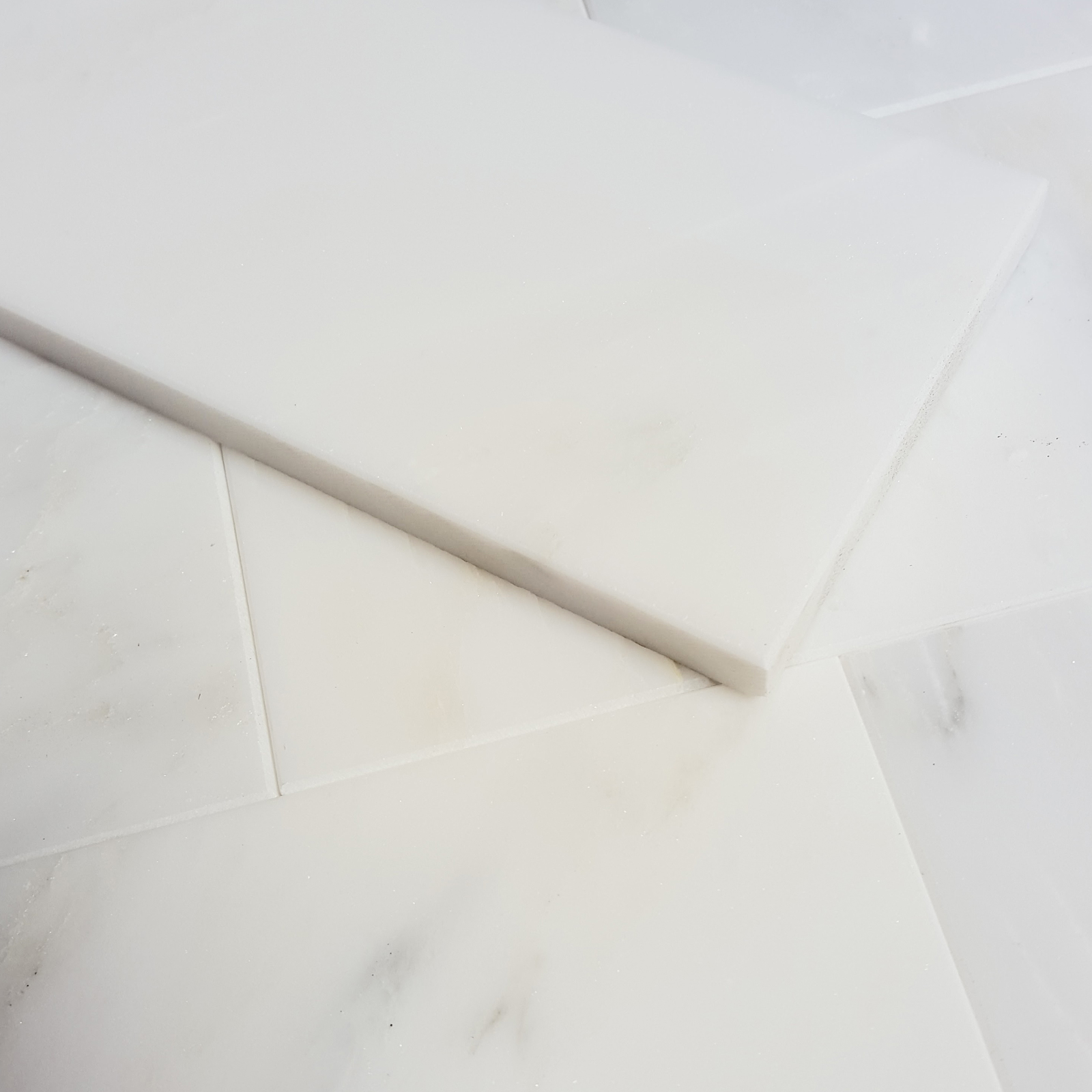 4 x 12 tile asian carrara marble polished