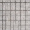 1 x 1 Mosaic Tile Whole Blanc Marble Polished