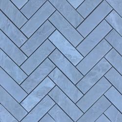 1 X 3 Herringbone Mosaic Tile Whole Blanc Carrara Marble Polished