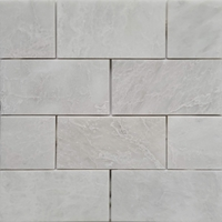 3 x 6 Tile Whole Blanc Carrara Marble Polished